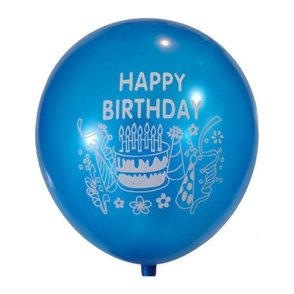 بادکنک تولدت مبارک بسته 100 عددی