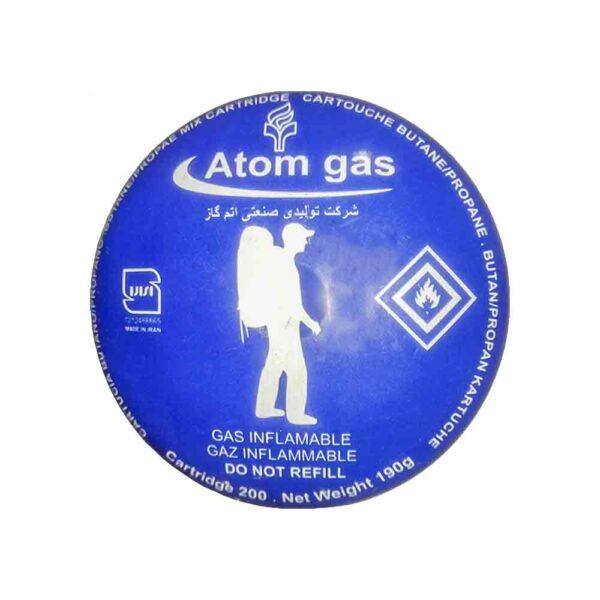 کپسول گاز اتم گاز رنگ آبی بسته 12 عددی
