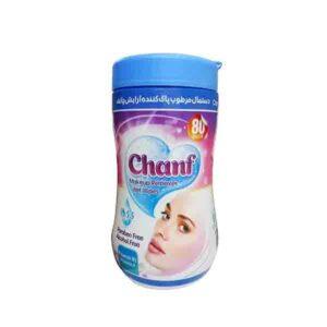 دستمال مرطوب و پاک کننده آرایش چانف بسته 80 عددی