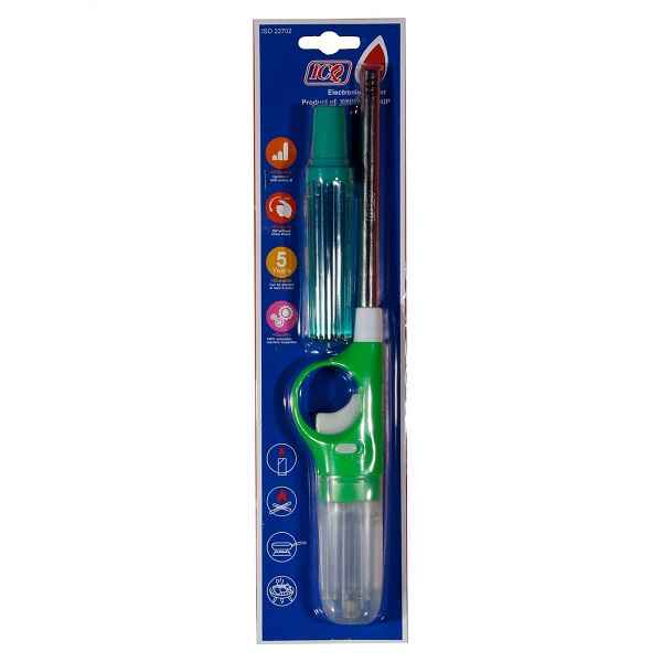 فندک آشپزخانه ICQ همراه با کپسول گاز بسته 6 عددی