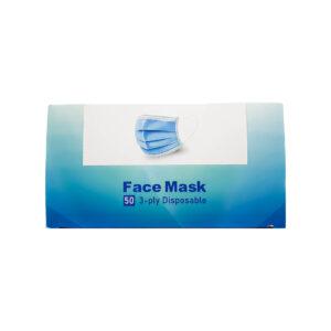 ماسک تنفسی 3 لایه کشی بسته 50 عددی