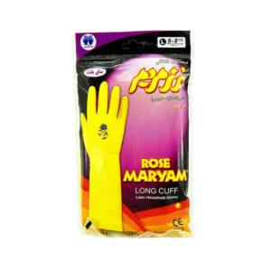 دستکش آشپزخانه رز مریم ساق بلند بسته 12 عددی