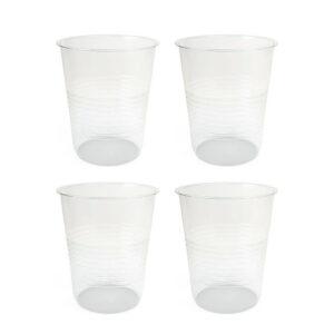 لیوان یکبار مصرف پلاستیکی بسته 500 عددی