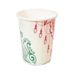 لیوان یکبار مصرف کاغذی بسته 50 عددی
