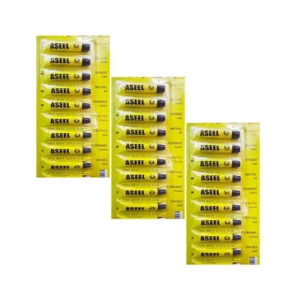 چسب همه کاره ASEEL بسته 72 عددی (کارتنی)