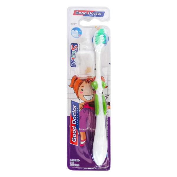 مسواک کودک گود دکتر مدل KIDS toothbrush بسته 12 عددی