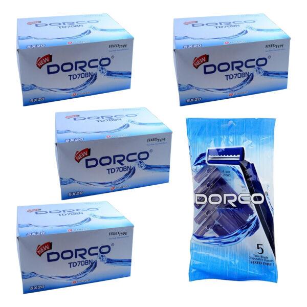 ژیلت دورکو TD708N بسته 20 عددی مجموعه 16 عددی (کارتنی)