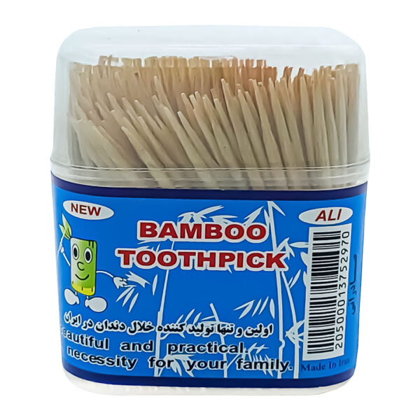 خلال دندان بامبو 500 عددی مجموعه 10 عددی