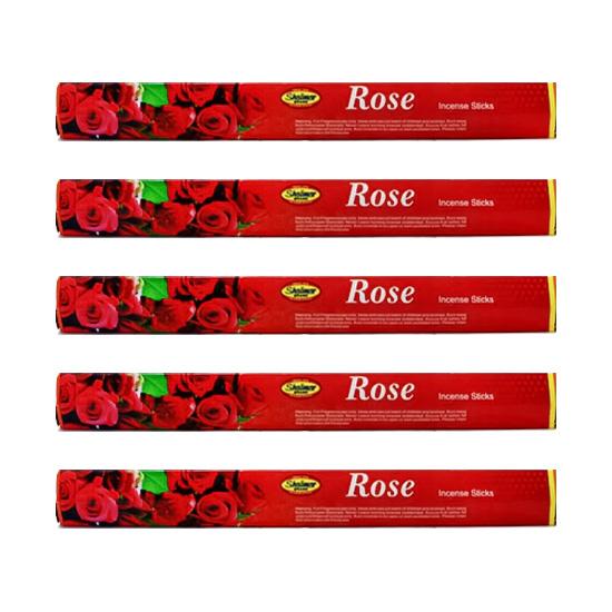 عود خوشبو کننده مدل گل رز بسته 12 عددی