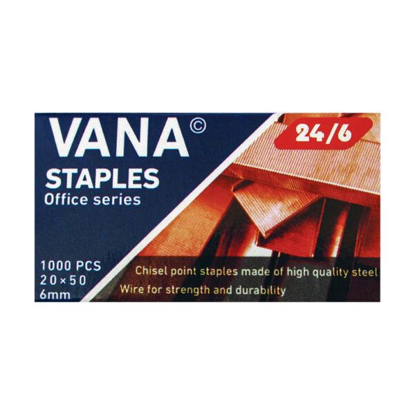 سوزن منگنه وانا سایز 24/6 بسته 10 عددی